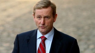 Ireland's head of government Enda Kenny
