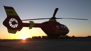 Just one of the three MAA helicopters has been cleared so far