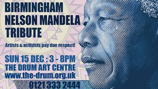 The event will also link to the coverage of the funeral in South Africa.