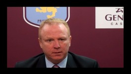 Aston Villa striker Darren Bent says that the players must accept some blame for Alex McLeish's departure