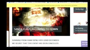 MK Winter Wonderland website