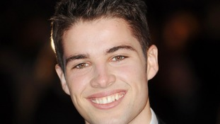 X Factor contestant Joe McElderry.
