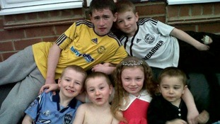 The six young Philpott children who were killed in an arson attack.