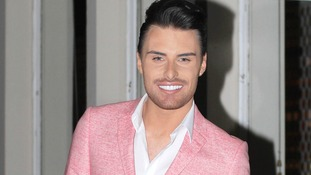 Rylan with his trademark smile.