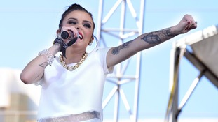 Cher Lloyd performing live at day 2 of the iHeart Radio Music Festival in Las Vegas