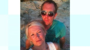 Craig and Victoria Dargue. He died of cancer in February, aged 39.