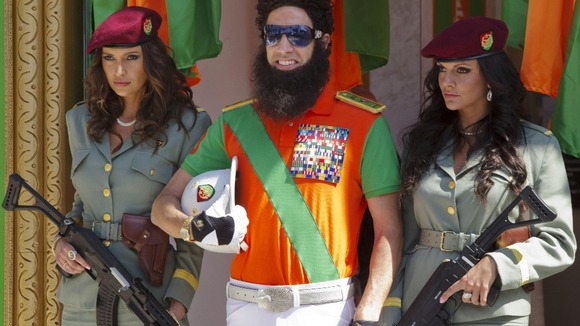 Actor Sacha Baron Cohen poses during a photo call for The Dictator at the 65th international film festival, in Cannes