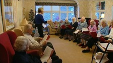 The choir at St John's care home in North Yorkshire has been named the oldest in the world.