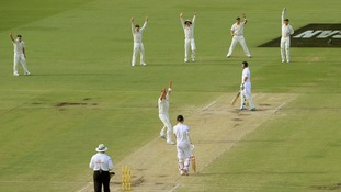 Australia celebrates Ashes win