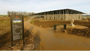 The new visitor centre.