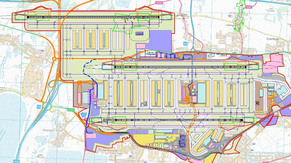 Heathrow runway to be built over the top of the m25 itv news - Planning and design of airports pdf ...