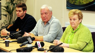 John and Marilyn Payne, parents of missing teenager Nicola Payne took part in the appeal last year.