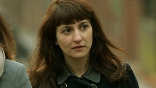 Francesca Grillo, arriving at court earlier last Tuesday.