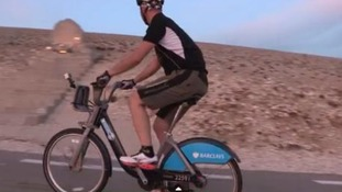 Boris Bike taken on gruelling trip to France and returned with seconds to spare