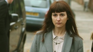Francesca Grillo, arriving at court earlier in the trial on 4th December.
