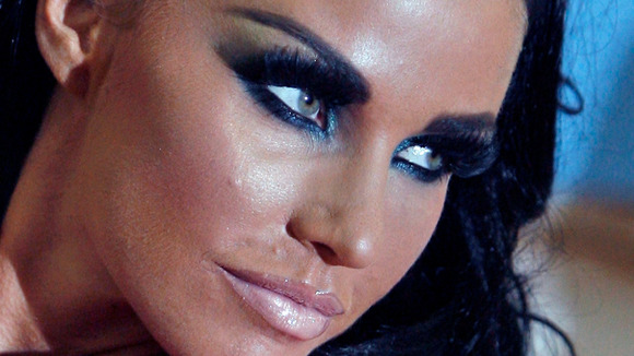 Model Katie Price