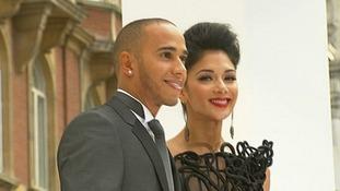 Lewis Hamilton and Nicole Scherzinger also attended the premier