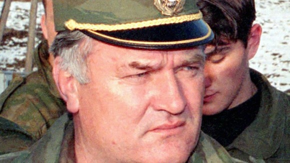 Ratko Mladic appears in court at the Hague in June 2011
