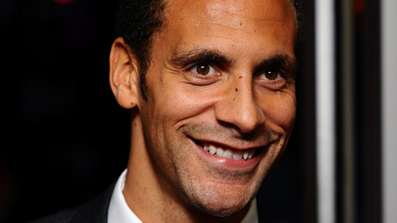 England defender Rio Ferdinand