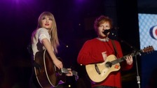 Taylor Swift and Ed Sheeran poppped into a Suffolk pup this week.