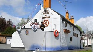 Jubilee style pub