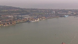 The Port of Felixstowe.