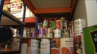 Surge in foodbank use