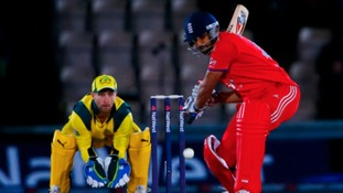 Ravi Bopara in ODI action for England against Australia in September.
