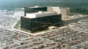 National Security Agency (NSA) headquarters in Fort Meade, Maryland