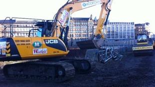 Work starts on Bradford's new Broadway shopping centre