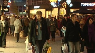 Shoppers in Norwich this week.