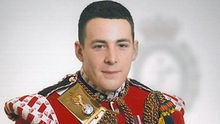 File photo of Fusilier Lee Rigby in uniform.