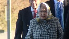 Royal return to Sandringham for Christmas