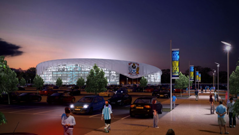 Coventry city 39 s new stadium plans revealed central itv for Coventry plan