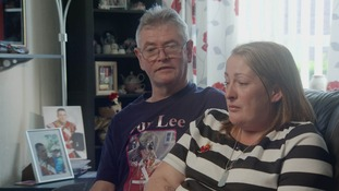 Lee Rigby's mother Lyn and stepfather Ian