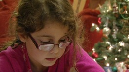 Festive cheer for blind and partially sighted children
