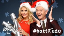 Holly Willoughby and Phillip Schofield for Text Santa.