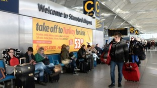 Around 350,000 passengers will be flying out of Stansted over the Christmas period.