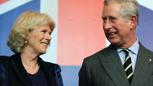 The Prince of Wales and Duchess of Cornwall will join the Queen on her royal barge