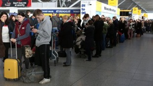 Thousands of passengers will head out of Stansted today.