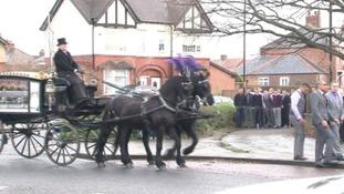 Benji Bolsenbroek's funeral