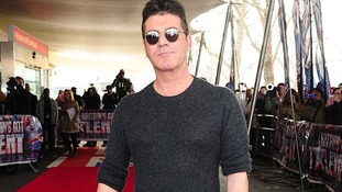 Simon Cowell pictured at the launch of X Factor 2012