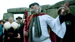 Archdruid of Stonehenge Rollo Maughfling