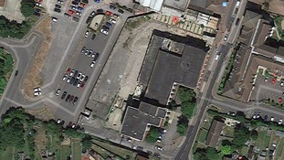 Aerial view of the Bell Shopping Centre