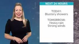 Weather forecast for Sunday