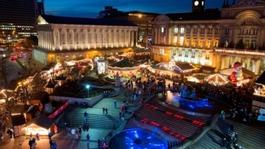 Last day of Birmingham Christmas Market