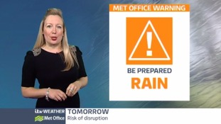 Wind and rain set to hit our region tomorrow