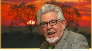 Entertainer Rolf Harris.