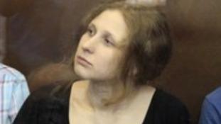 Pussy Riot member Maria Alyokhina.