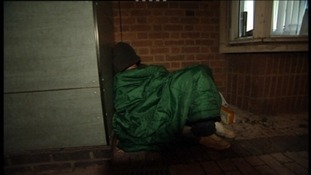 Homelessness in the west on the rise